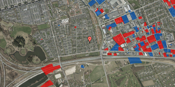 Jordforureningskort på Syvhøjvænge 61, 2625 Vallensbæk