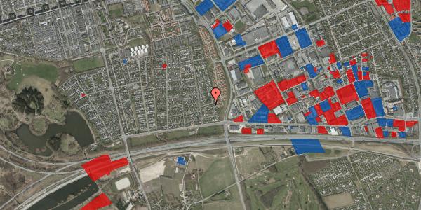 Jordforureningskort på Syvhøjvænge 62, 2625 Vallensbæk
