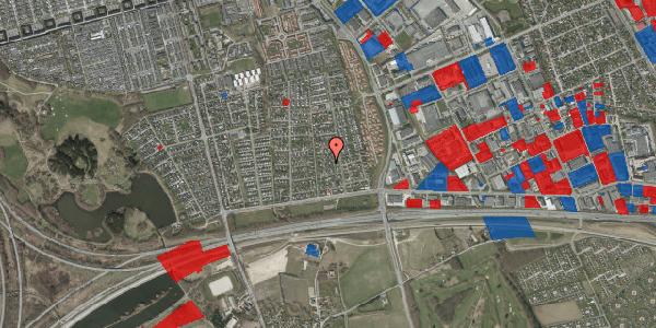 Jordforureningskort på Syvhøjvænge 63, 2625 Vallensbæk
