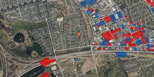 Jordforureningskort på Syvhøjvænge 71, 2625 Vallensbæk