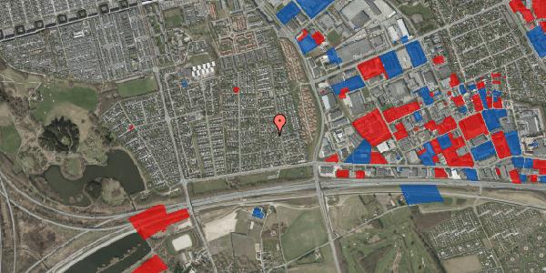 Jordforureningskort på Syvhøjvænge 79, 2625 Vallensbæk