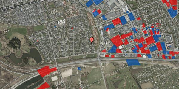 Jordforureningskort på Syvhøjvænge 84, 2625 Vallensbæk
