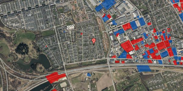 Jordforureningskort på Syvhøjvænge 101, 2625 Vallensbæk
