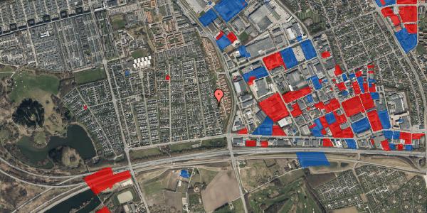 Jordforureningskort på Syvhøjvænge 104, 2625 Vallensbæk