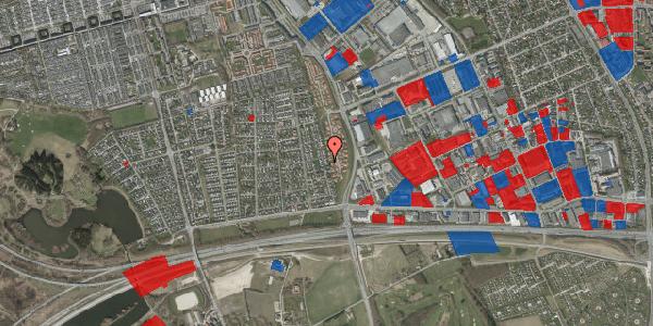 Jordforureningskort på Syvhøjvænge 108, 2625 Vallensbæk