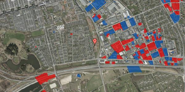 Jordforureningskort på Syvhøjvænge 110, 2625 Vallensbæk