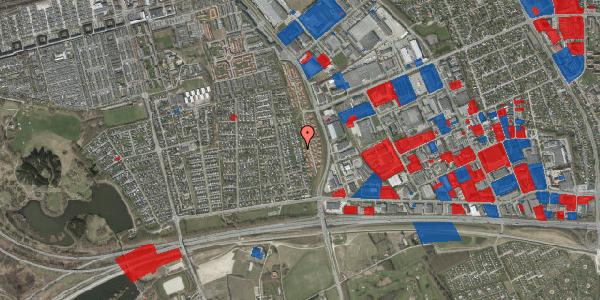 Jordforureningskort på Syvhøjvænge 116, 2625 Vallensbæk
