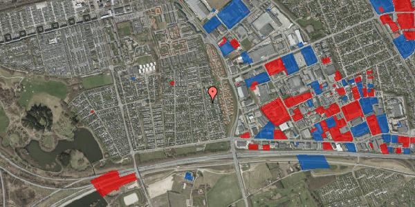 Jordforureningskort på Syvhøjvænge 142, 2625 Vallensbæk