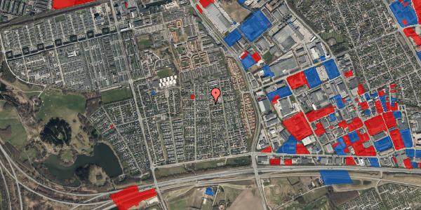 Jordforureningskort på Syvhøjvænge 161, 2625 Vallensbæk