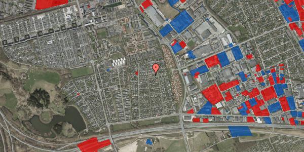 Jordforureningskort på Syvhøjvænge 163, 2625 Vallensbæk