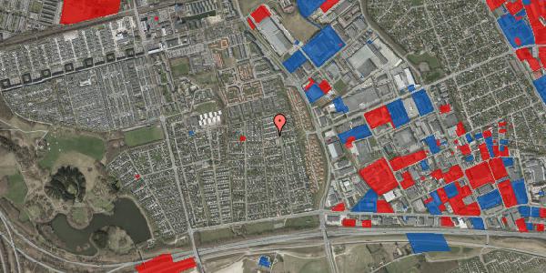 Jordforureningskort på Syvhøjvænge 171, 2625 Vallensbæk