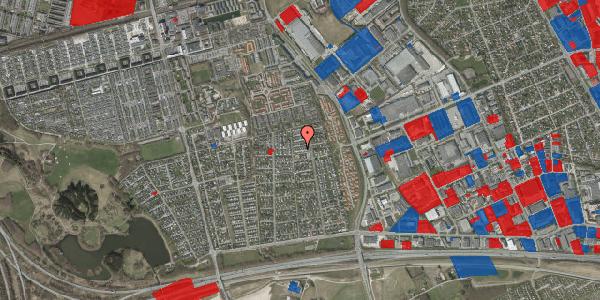 Jordforureningskort på Syvhøjvænge 175, 2625 Vallensbæk