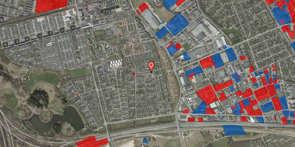 Jordforureningskort på Syvhøjvænge 177, 2625 Vallensbæk