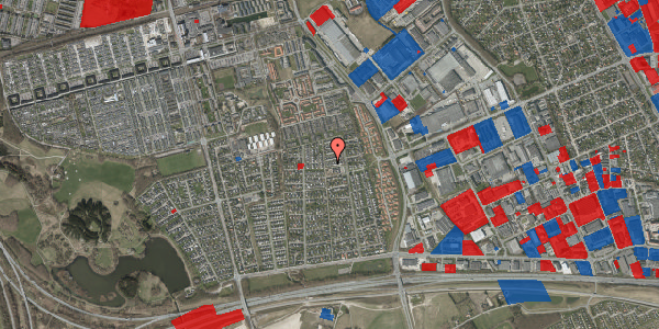 Jordforureningskort på Syvhøjvænge 179, 2625 Vallensbæk