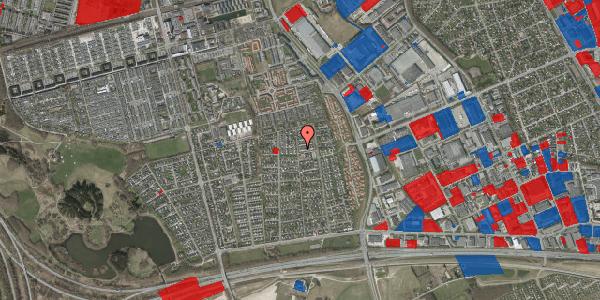 Jordforureningskort på Syvhøjvænge 181, 2625 Vallensbæk