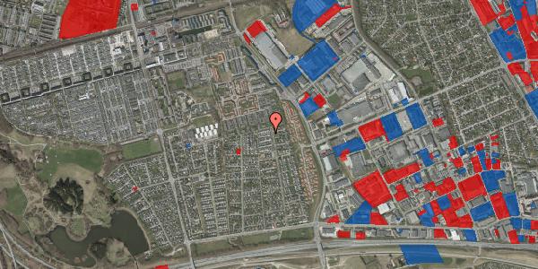 Jordforureningskort på Syvhøjvænge 213, 2625 Vallensbæk