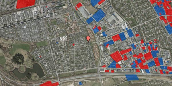 Jordforureningskort på Syvhøjvænge 224, 2625 Vallensbæk