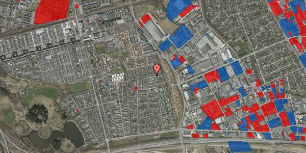 Jordforureningskort på Syvhøjvænge 239, 2625 Vallensbæk