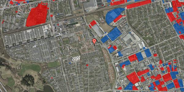 Jordforureningskort på Valmuebakken 2, 2625 Vallensbæk