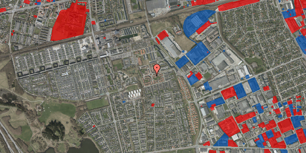 Jordforureningskort på Valmuebakken 21, 2625 Vallensbæk