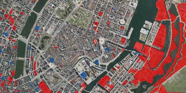 Jordforureningskort på Bremerholm 1A, st. , 1069 København K