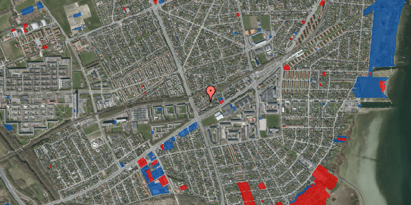 Jordforureningskort på Ajax Alle 45B, 2650 Hvidovre