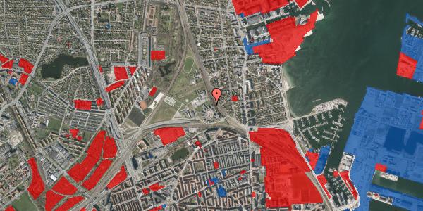 Jordforureningskort på Svanemøllens Kaserne 45, 2100 København Ø