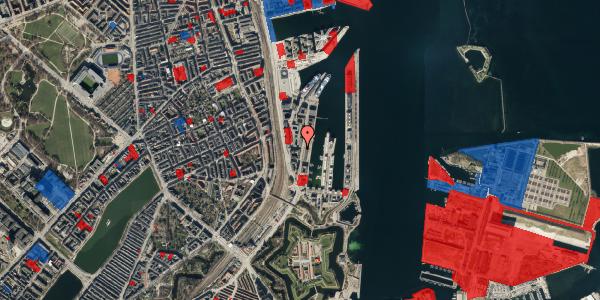 Jordforureningskort på Amerika Plads 1, 3. , 2100 København Ø