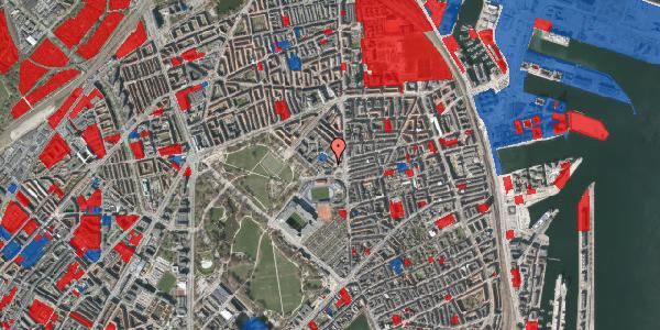 Jordforureningskort på Østerfælled Torv 21, 2100 København Ø
