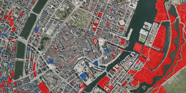 Jordforureningskort på Østergade 19, 3. th, 1100 København K