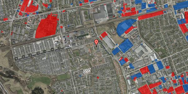 Jordforureningskort på Hvidkløvervænget 5, 2625 Vallensbæk