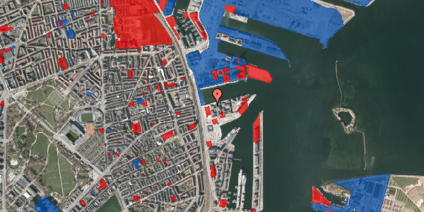 Jordforureningskort på Marmorvej 11C, 2. th, 2100 København Ø