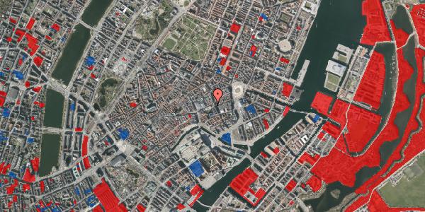 Jordforureningskort på Nikolaj Plads 3, 1067 København K