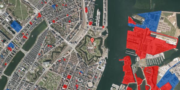 Jordforureningskort på Kastellet 66, 2100 København Ø
