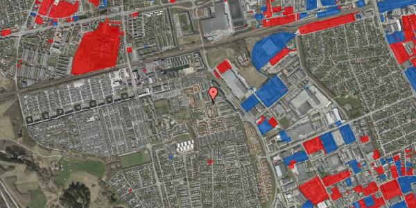Jordforureningskort på Grønkløvervænget 61, 2625 Vallensbæk