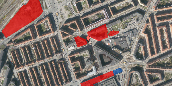 Jordforureningskort på Æbeløgade 11, st. , 2100 København Ø