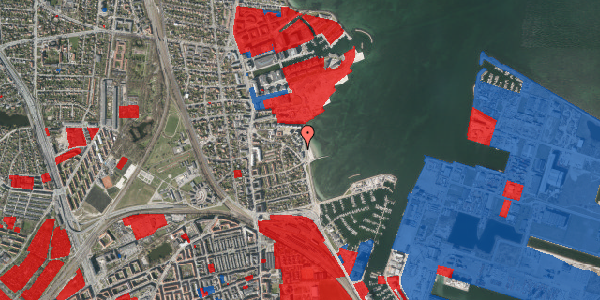 Jordforureningskort på Strandpromenaden 51, 2100 København Ø