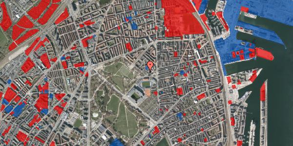 Jordforureningskort på Serridslevvej 2C, kl. 3, 2100 København Ø