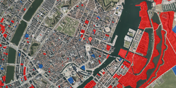 Jordforureningskort på Kongens Nytorv 16, 4. , 1050 København K
