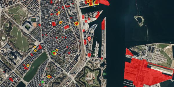 Jordforureningskort på Amerika Plads 6A, st. , 2100 København Ø