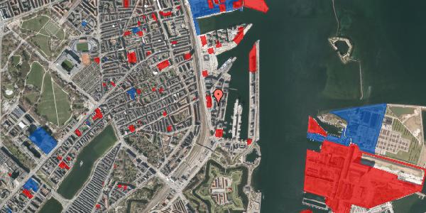 Jordforureningskort på Amerika Plads 6, 3. tv, 2100 København Ø