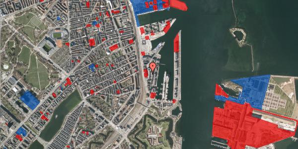Jordforureningskort på Amerika Plads 8A, st. , 2100 København Ø