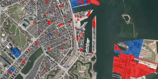 Jordforureningskort på Amerika Plads 8, 4. th, 2100 København Ø