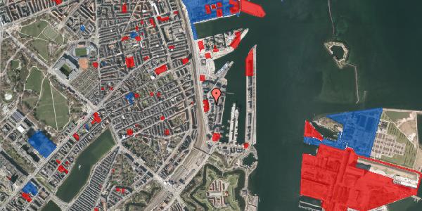 Jordforureningskort på Amerika Plads 10A, st. , 2100 København Ø