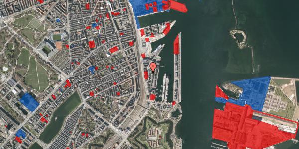 Jordforureningskort på Amerika Plads 12, 2. 1, 2100 København Ø
