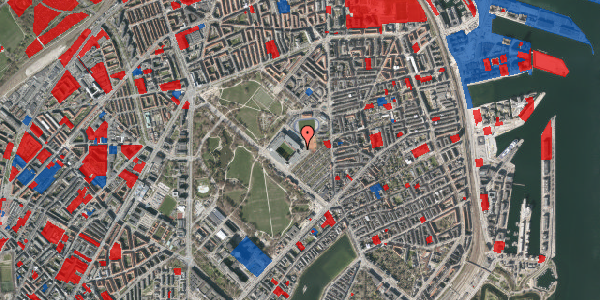 Jordforureningskort på Øster Allé 50, 2. , 2100 København Ø