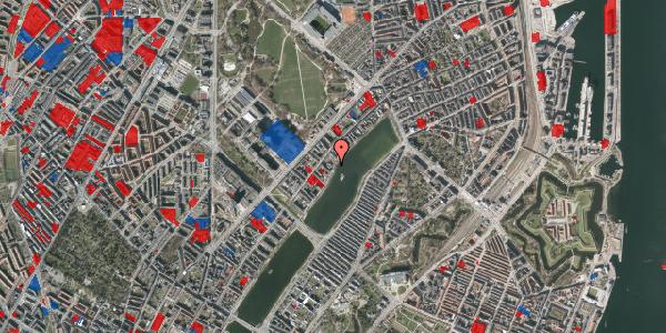 Jordforureningskort på Helgesensgade 2A, 2100 København Ø