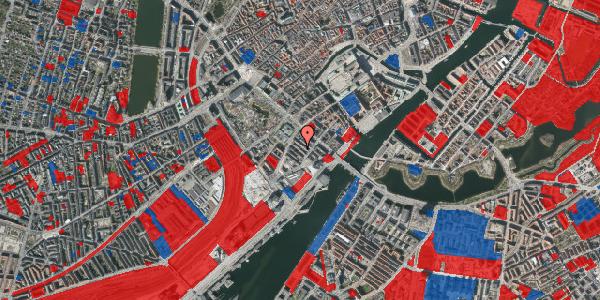 Jordforureningskort på Anker Heegaards Gade 7A, st. tv, 1572 København V