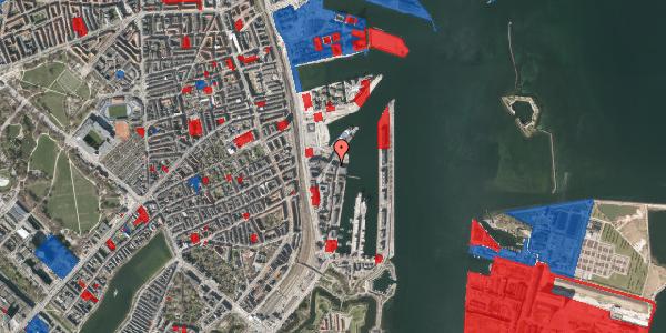Jordforureningskort på Amerika Plads 38, 4. , 2100 København Ø