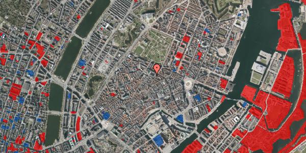 Jordforureningskort på Pilestræde 56, 3. , 1112 København K